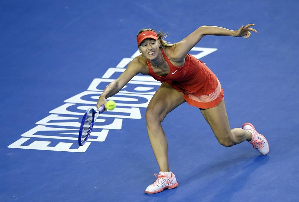 Мария Шарапова в четвертый раз в карьере участвовала в финале Открытого чемпионата Австралии (на ее счету победа в 2008 году)