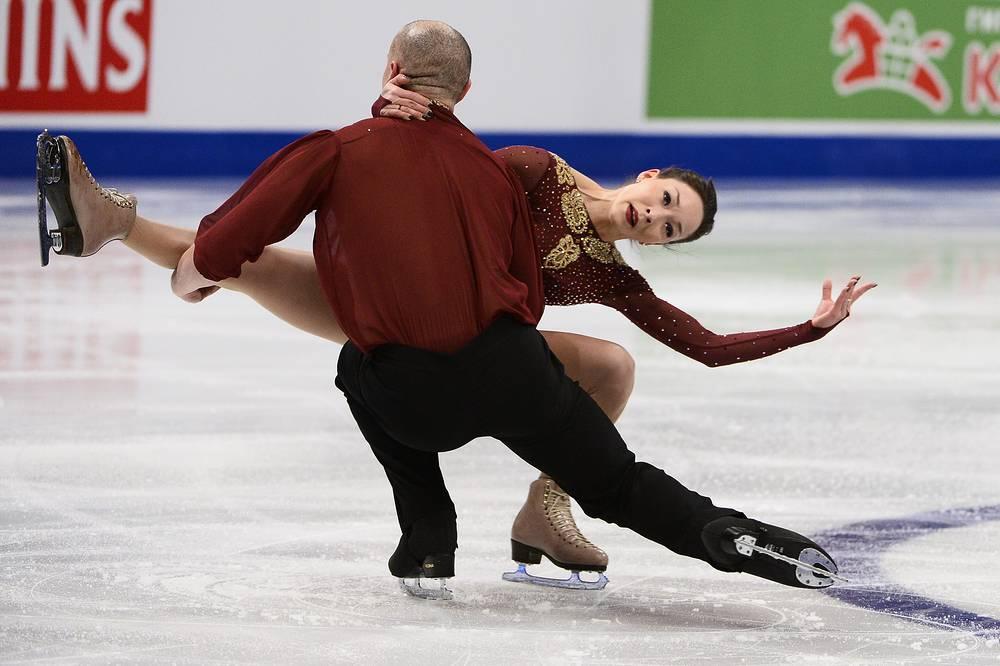 Мари Вартман и Аарон Ван Клив из Германии