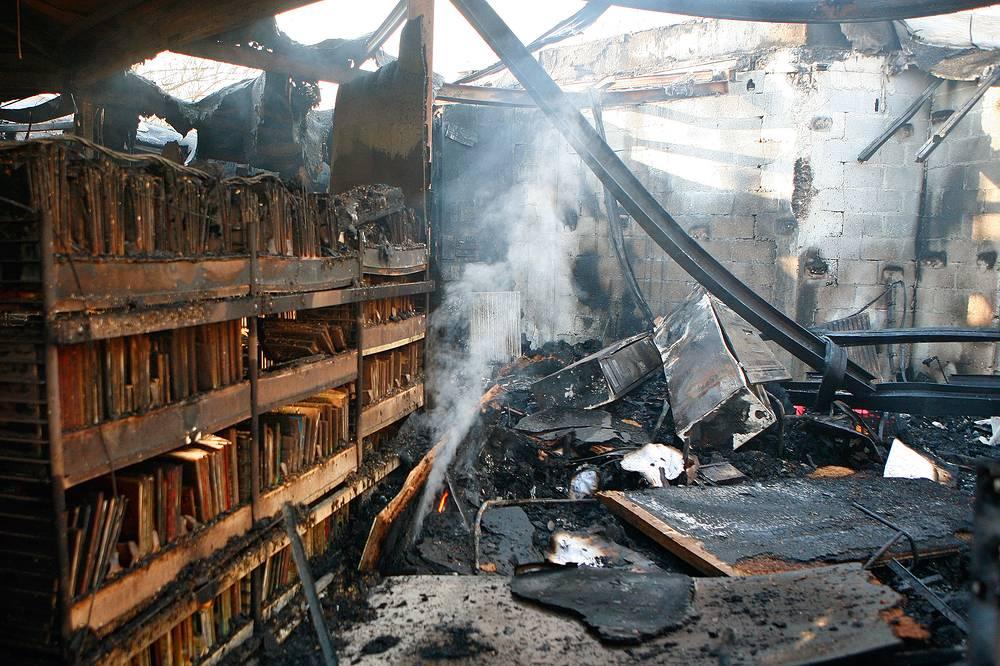 27 ноября 2007 года в ходе беспорядков в северном пригороде Парижа Вилье-ле-Бель была сожжена публичная библиотека