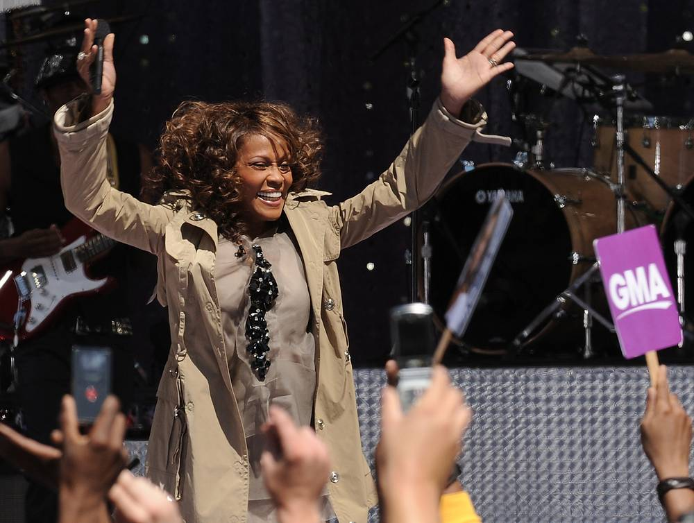 На концерте в рамках телешоу Good Morning America, 2009 год