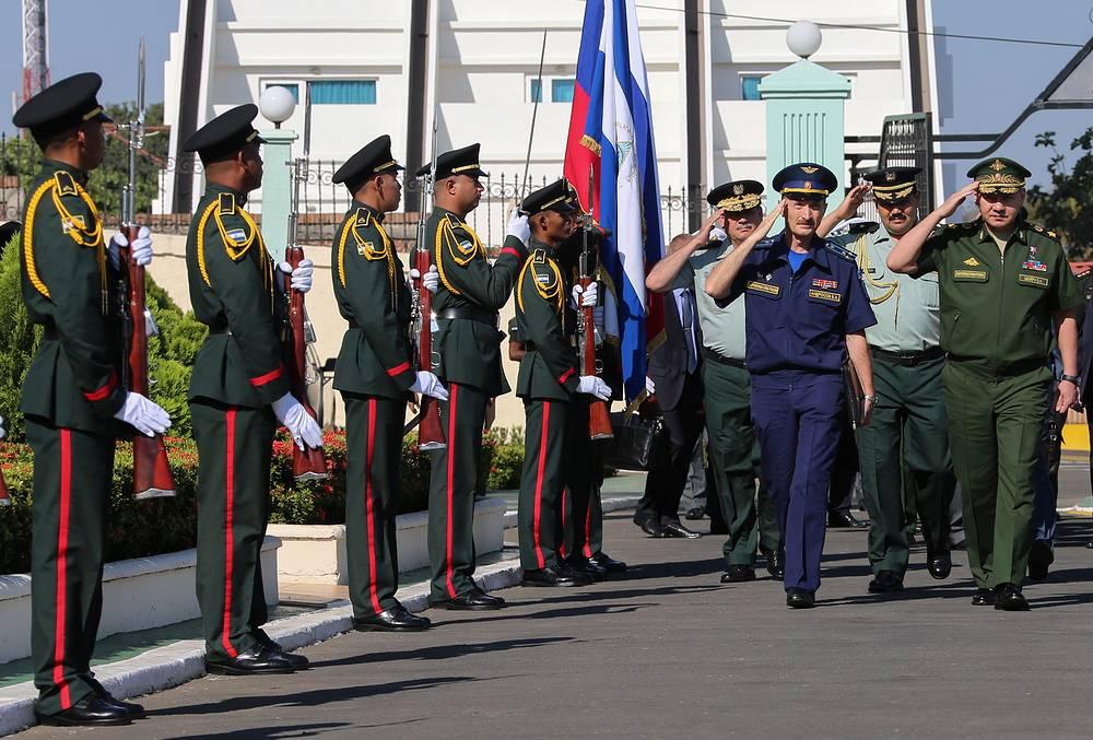 Министр обороны РФ Сергей Шойгу посетил Венесуэлу, Никарагуа и Кубу. Основная цель поездки - расширение военного присутствия России в Латинской Америке