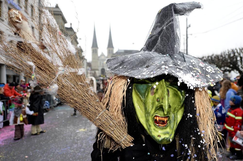 Карнавальное шествие в Люцерне, Швейцария