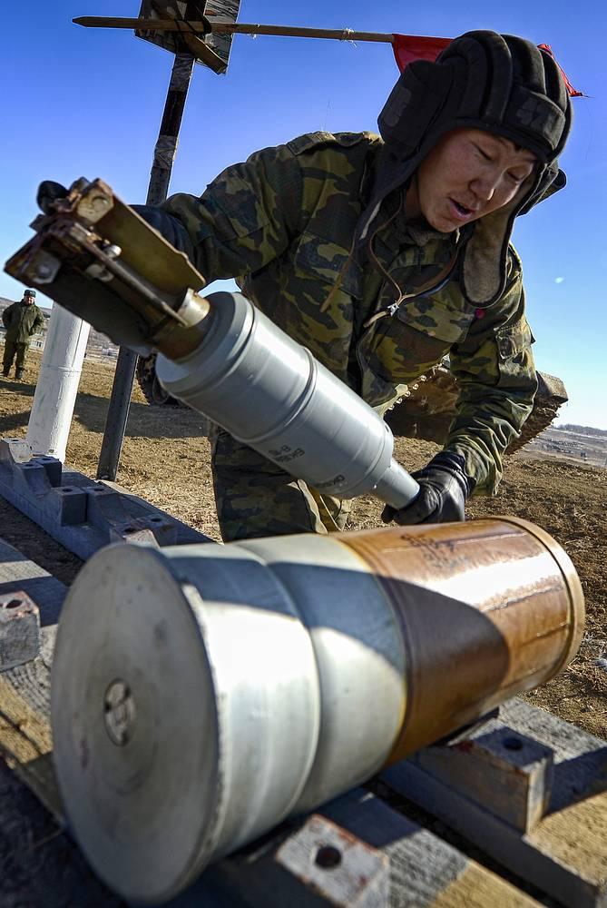 Танковый боеприпас раздельного заряжания