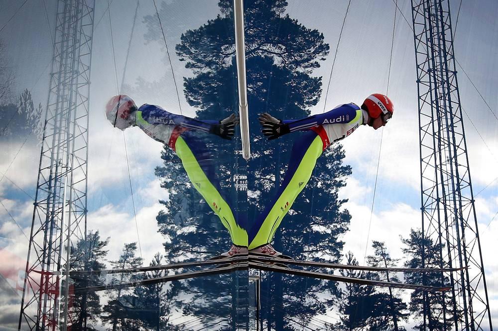 19 февраля в шведском Фалуне стартовал Чемпионат мира по лыжным видам спорта. На фото: немец Рихард Фрайтаг