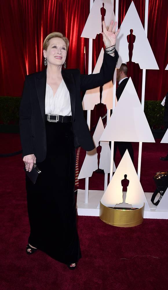 "Трехкратная обладательница премий ""Оскар"" (1980, 1983, 2012) актриса Мерил Стрип"