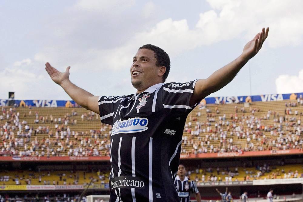 """До недавнего времени последним клубом в карьере легендарного Роналдо был """"Коринтианс"""", с которым он завоевал Кубок Бразилии-2009"""