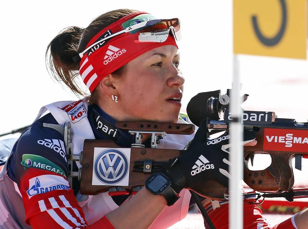 Также второе место на счету Дарьи Виролайнен. Она завоевала серебро в гонке преследования