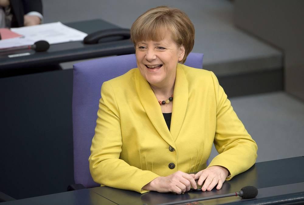 Канцлер Германии Ангела Меркель - $18,5 тыс. в месяц