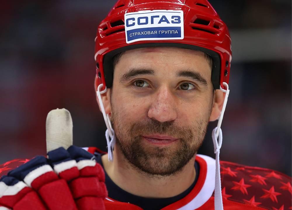 Данис Зарипов на матче звезд Континентальной хоккейной лиги