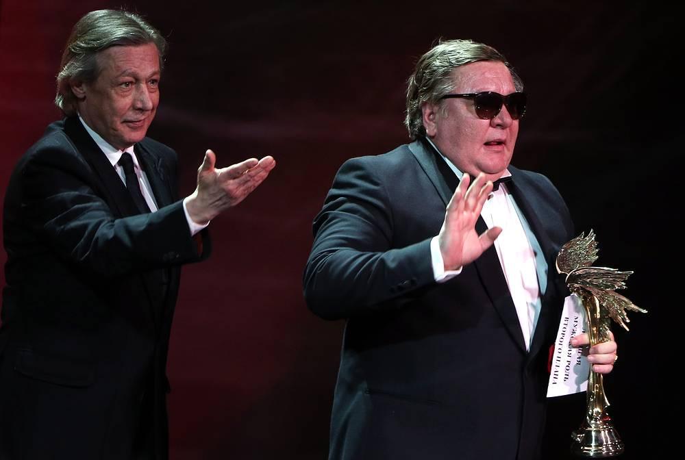 Михаил Ефремов (слева) и Роман Мадянов (справа)
