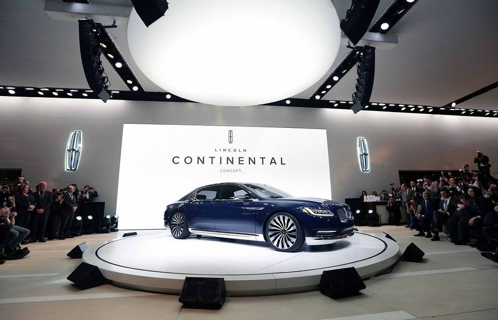 Премьера седана Lincoln Continental