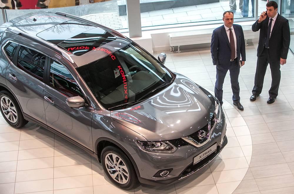 Nissan X-Trail SE – полноприводный в комплектации MID – 2,5 л, 171 л.с.   В Крыму  ОСАГО подорожает на 761,9 рубля до 2635, 8 рубля