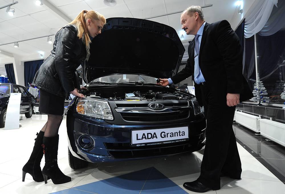 Lada Granta- 1,6 л, 87 л.с.   В Москве премия при росте базового тарифа на 41% составит 6040,3 рубля (рост на 1745,9 рубля)