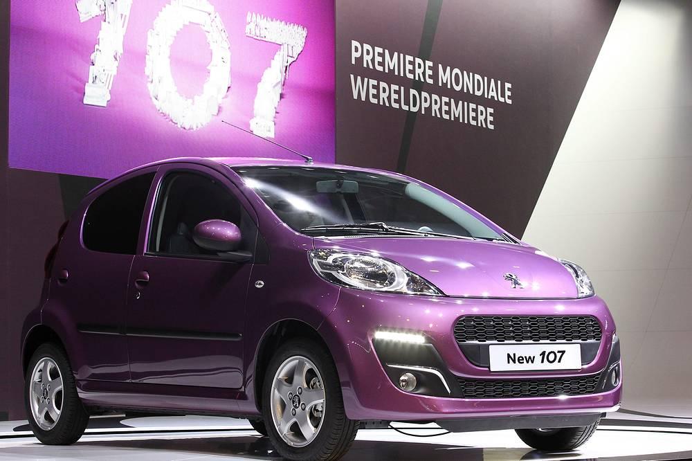 """Peugeot 107 – 1 л,  68 л.с.  """"Автогражданка"""" в Самаре обойдется в 4393,0 рубля (полис подорожает  на 1269,9 рубля)"""