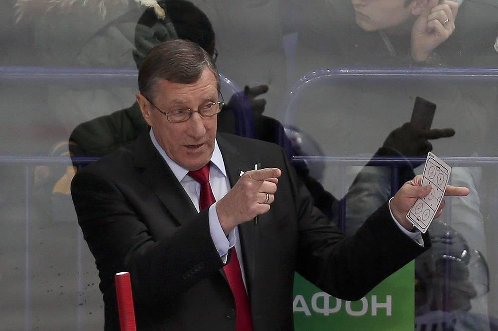 16 апреля скончался известный российский хоккеист и тренер Валерий Белоусов