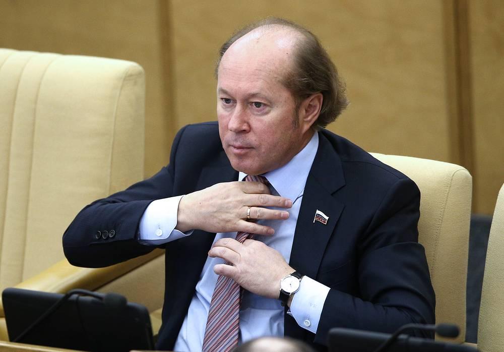 Первый заместитель председателя комитета Госдумы РФ по науке и наукоемким технологиям Владимир Кононов