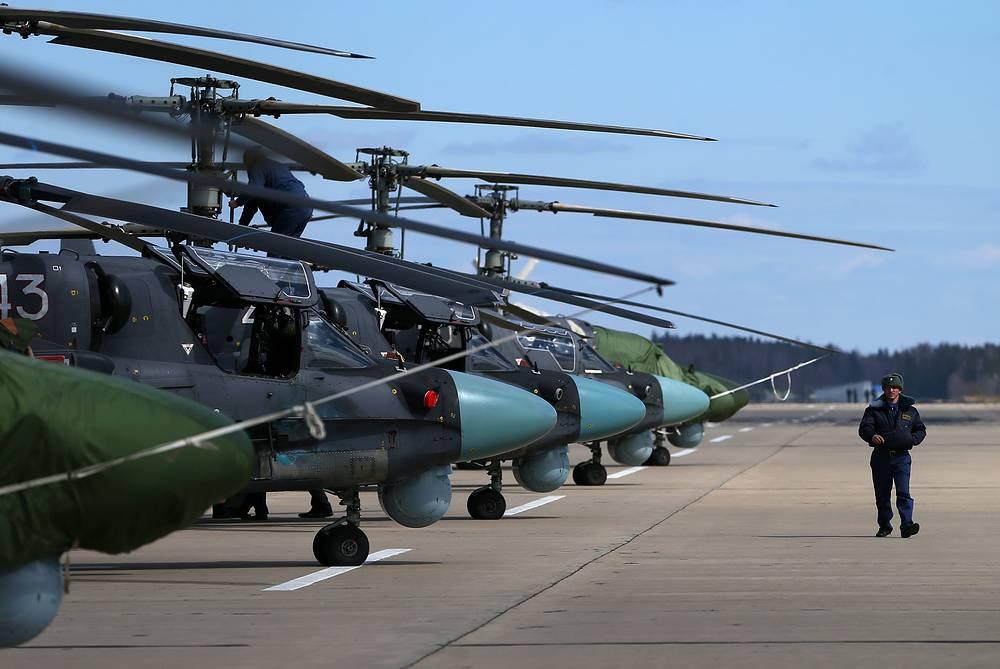 Вертолеты К-52