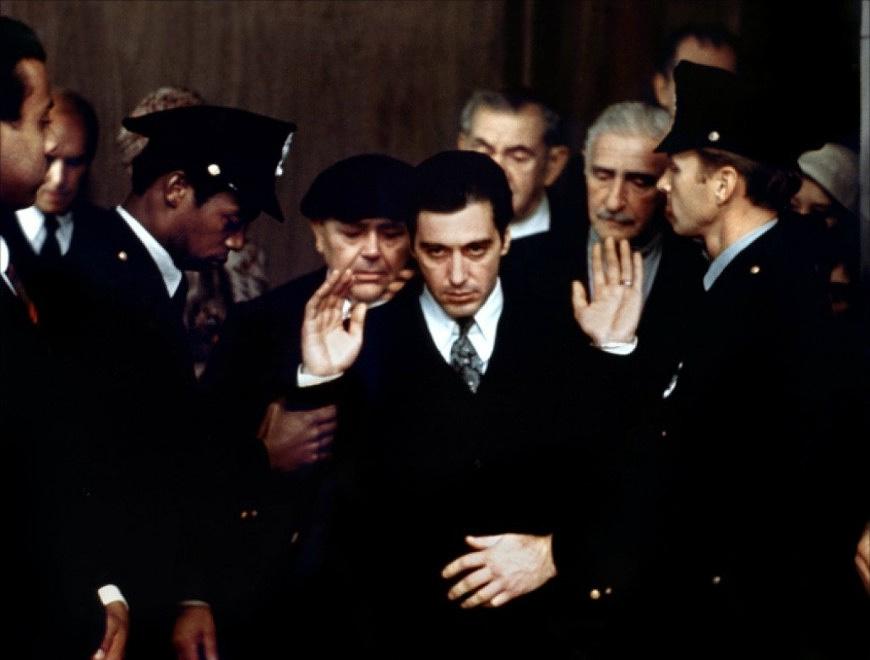 """Кадр из фильма """"Крестный отец-2"""", 1974 г"""