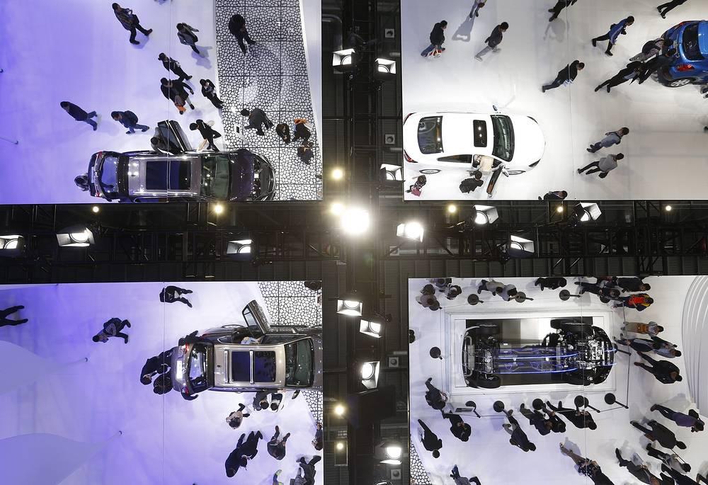 20 апреля состоялось открытие 16-го Международного автосалона в Шанхае