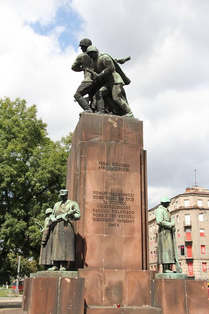 Памятник братства по оружию в Варшаве, Польша