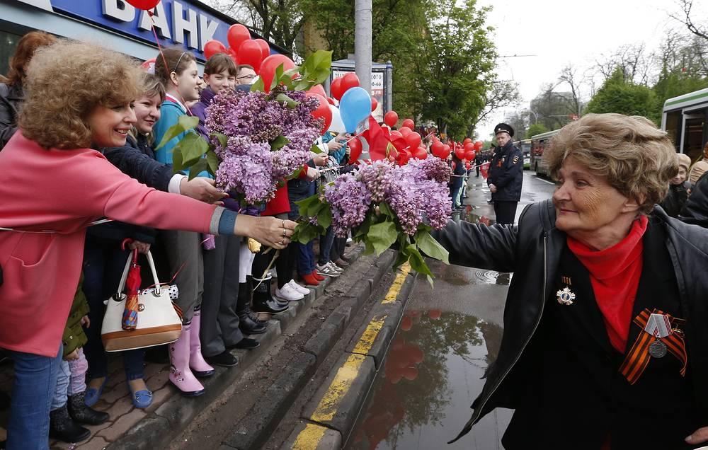 Празднование Дня Победы в Ростове-на-Дону