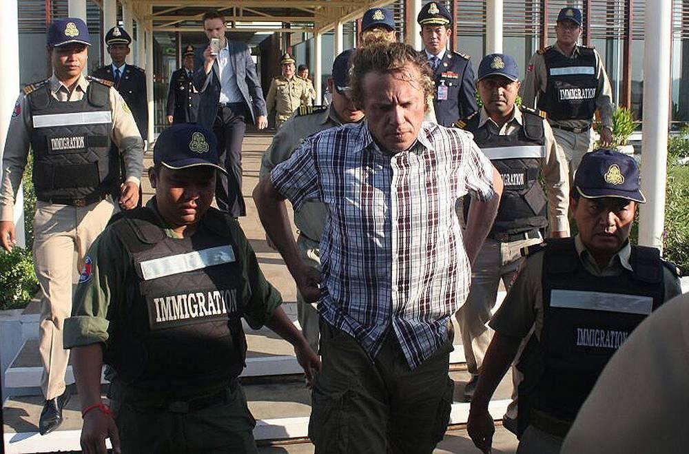 """15 мая 2015 года Полонский был арестован камбоджийской полицией на собственной яхте близ города Сиануквиль за нарушение иммиграционного законодательства. 17 мая предпринимателя депортировали из Камбоджи в Россию и поместили в СИЗО """"Матросская тишина"""""""