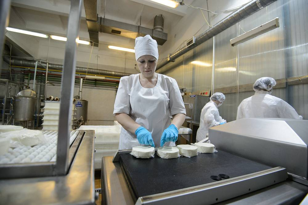 Цех по производству мягкого сыра Адыгейский в городе Кушва Свердловской области