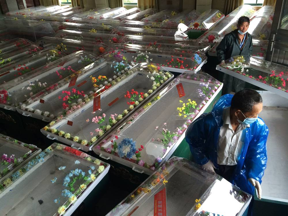 К 3 июня китайские спасатели обнаружили тела 23 погибших
