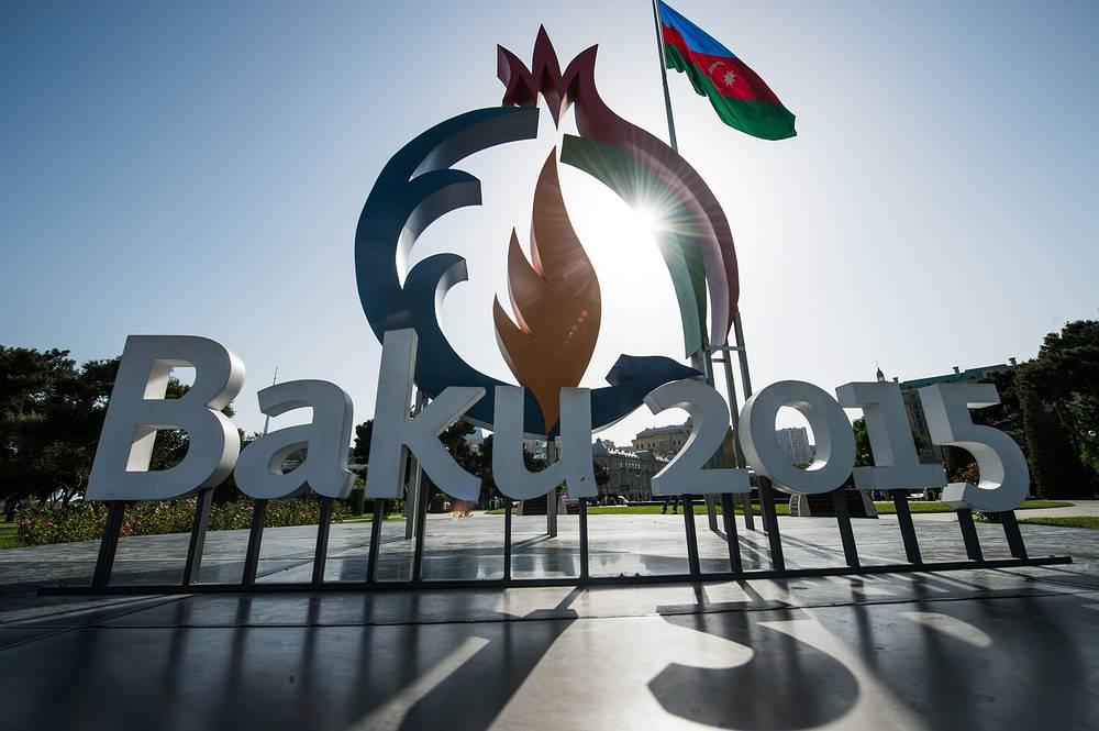 Логотип Европейских игр в Баку