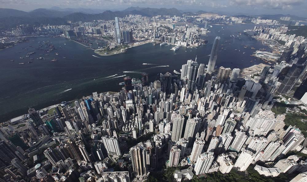 Второе место - Гонконг, КНР