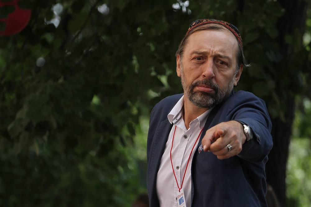 "Директор фестиваля ""Коляда-Plays"", драматург Николай Коляда"