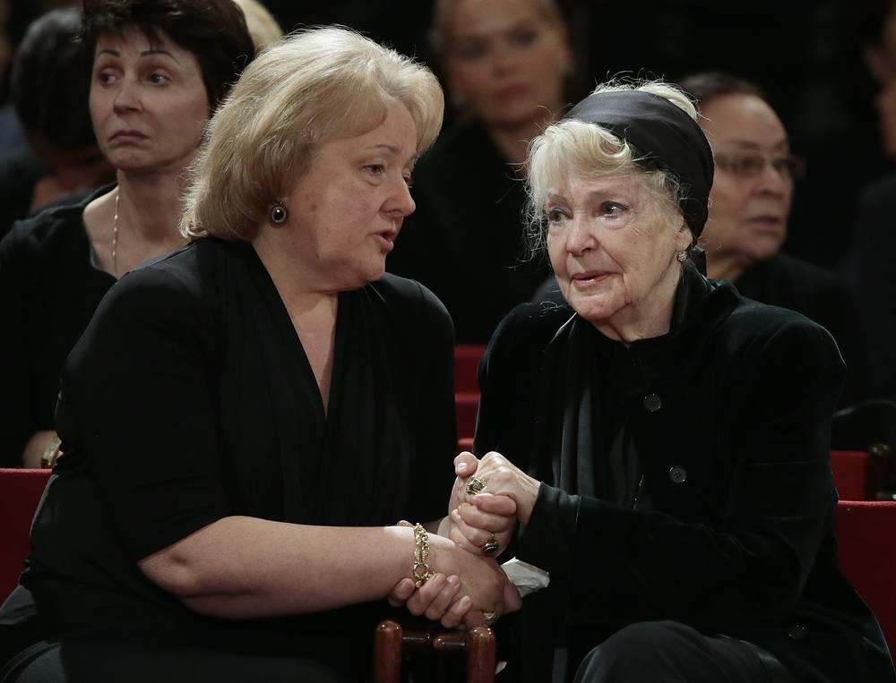Вдова политика Евгения Примакова Ирина и актриса Ирина Скобцева