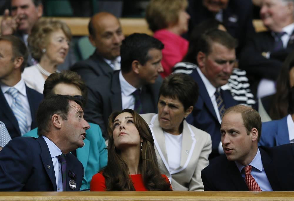 Принц Уильям, герцог Кембриджский и его жена, герцогиня Кембриджская Кэтрин