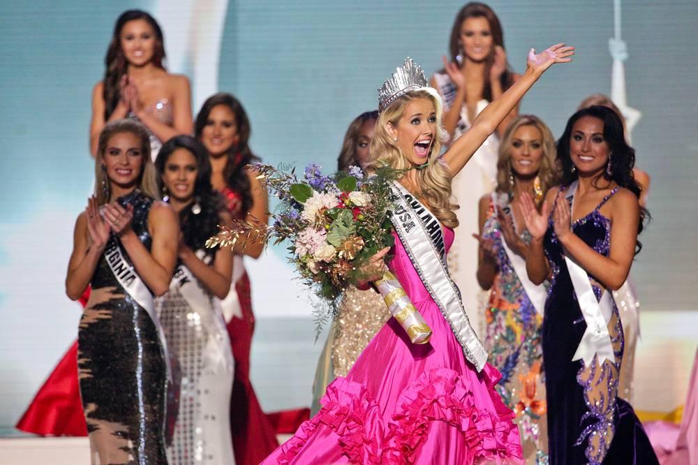 """Победительница 64-го ежегодного конкурса красоты """"Мисс США"""" Оливия Джордан"""