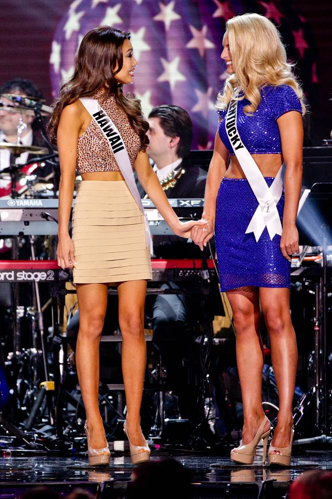 Мисс Гавайи и Мисс Кентукки