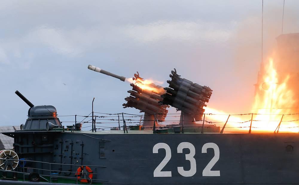 """Малый противолодочный корабль """"Калмыкия"""" проекта 1331М, Балтийск"""