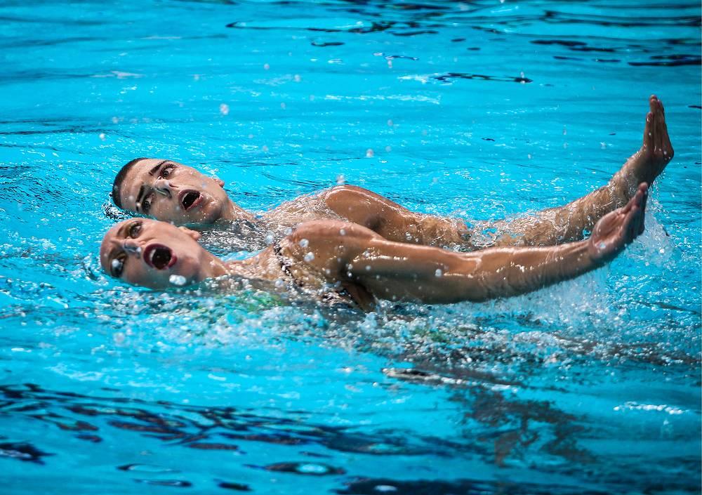 Итальянцы Джорджио Минисини и Манила Фламини стали бронзовыми призерами мирового первенства