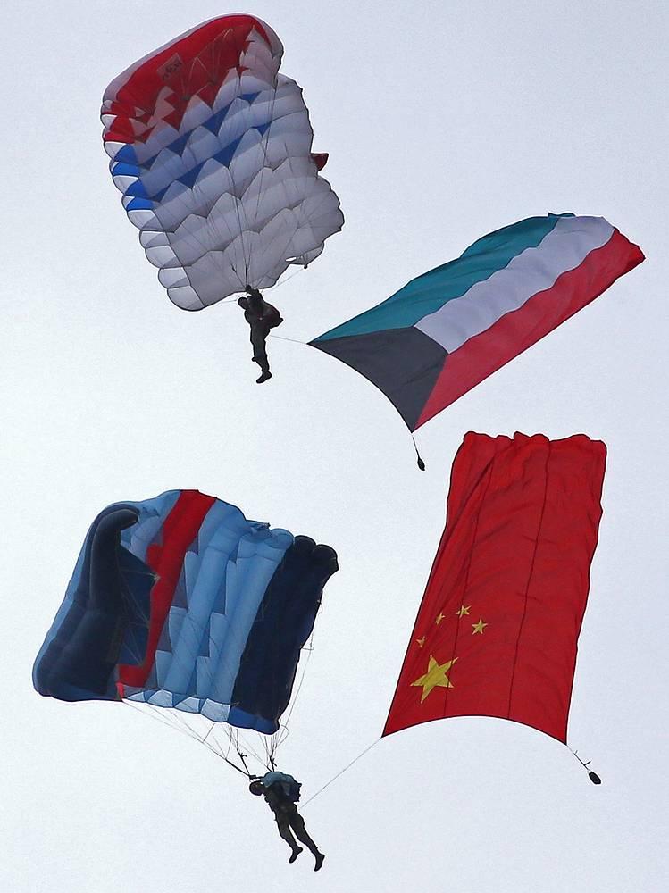 Торжественная церемония открытия первых Армейских международных Игр-2015 на полигоне Алабино