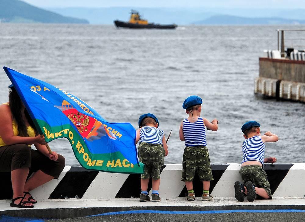 Спортивная набережная Владивостока
