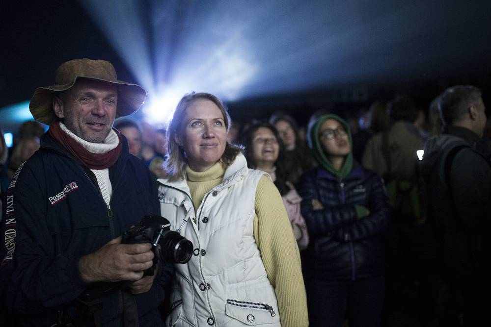 "Фестивале ""Архстояние - 2015"" в деревне Никола-Ленивец"