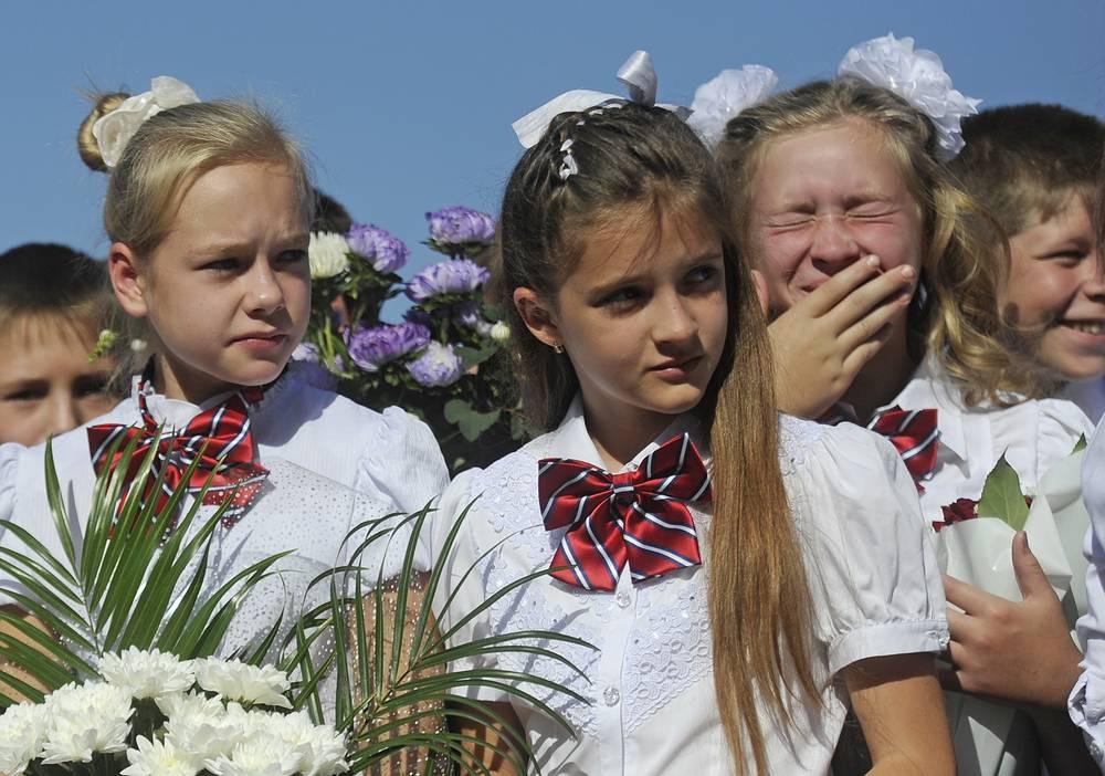Новосибирская область. Средняя школе №57 села Новолуговое