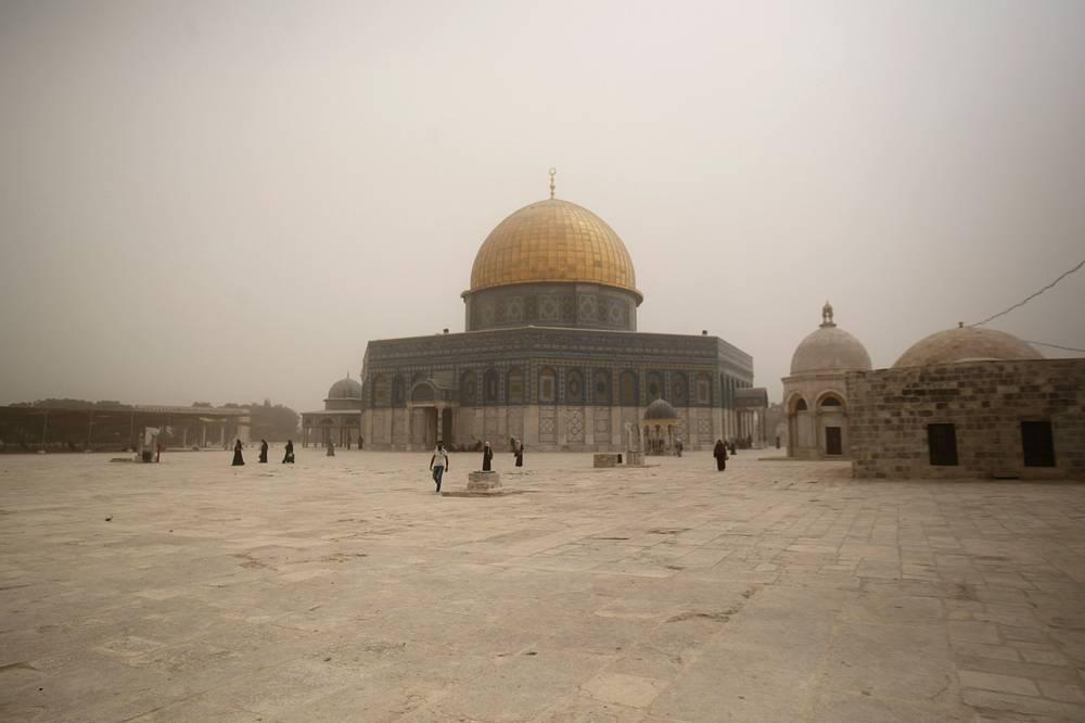 Мечеть аль-Акса, Иерусалим, Израиль