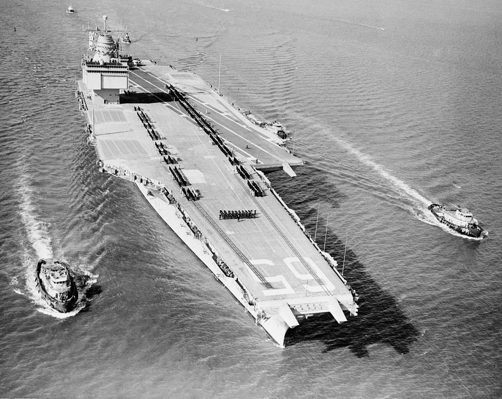 """Авианосец """"Энтерпрайз"""", 22 ноября 1961 года"""