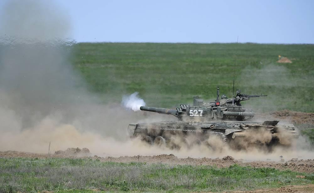 "Т-72Б3 - последний на данный момент вариант модернизации танка Т-72, стал известен благодаря ""Танковому биатлону"""