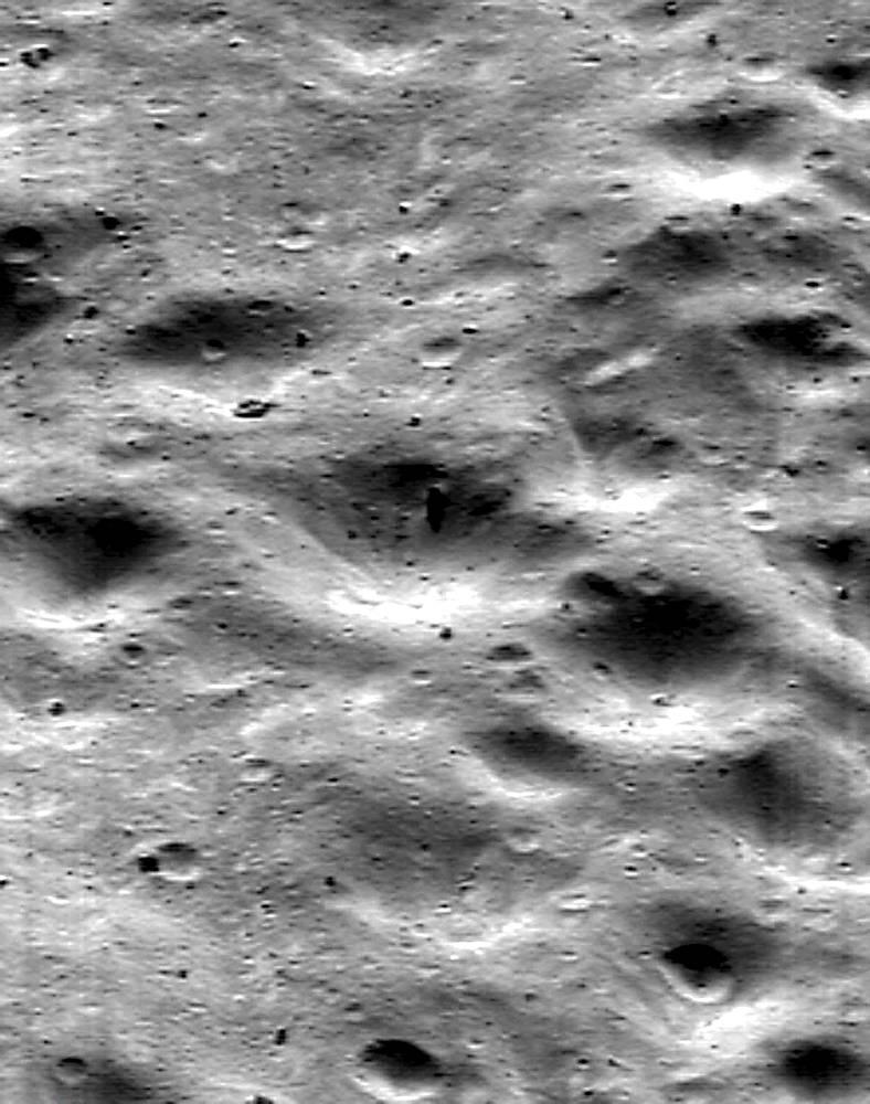 Поверхность астероида (433) Эрос