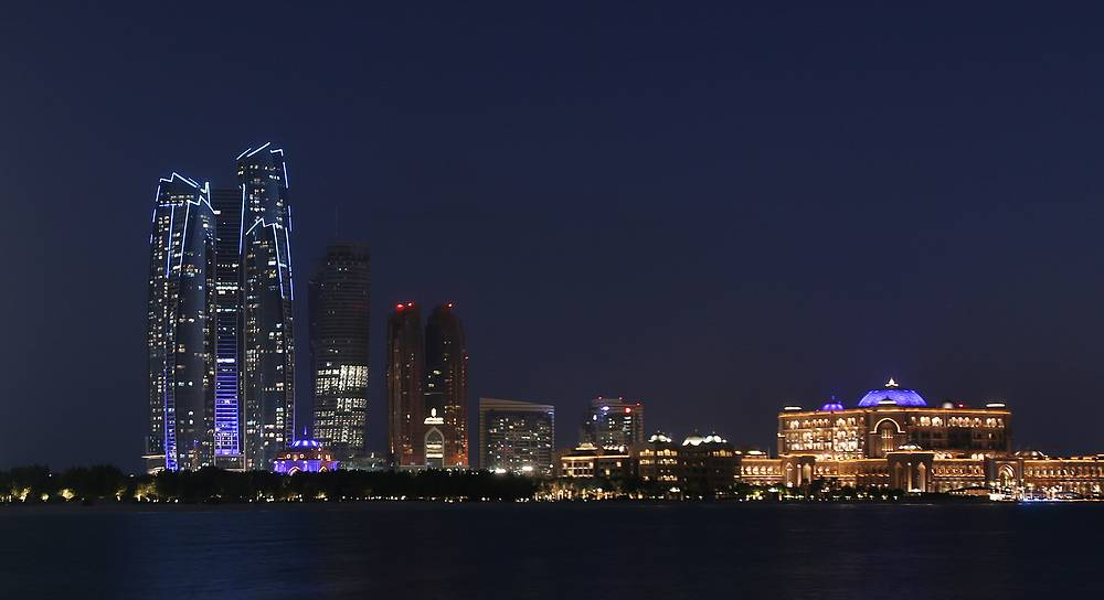 Небоскребы The Etihad Towers,  Абу-Даби, ОАЭ