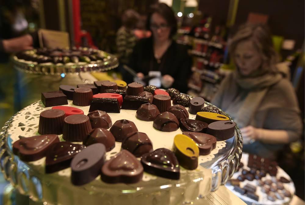Шоколадные конфеты стали дороже на 24%