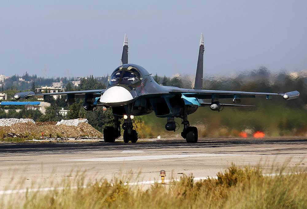 Фронтовой бомбардировщик Су-34