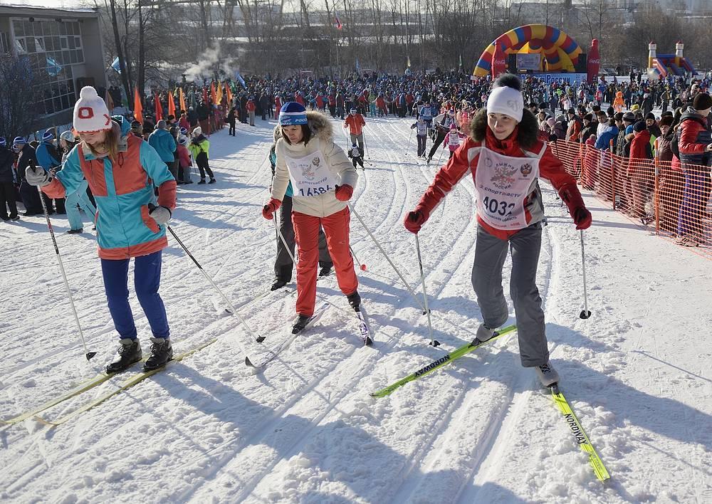 Екатеринбург.  Участники гонки