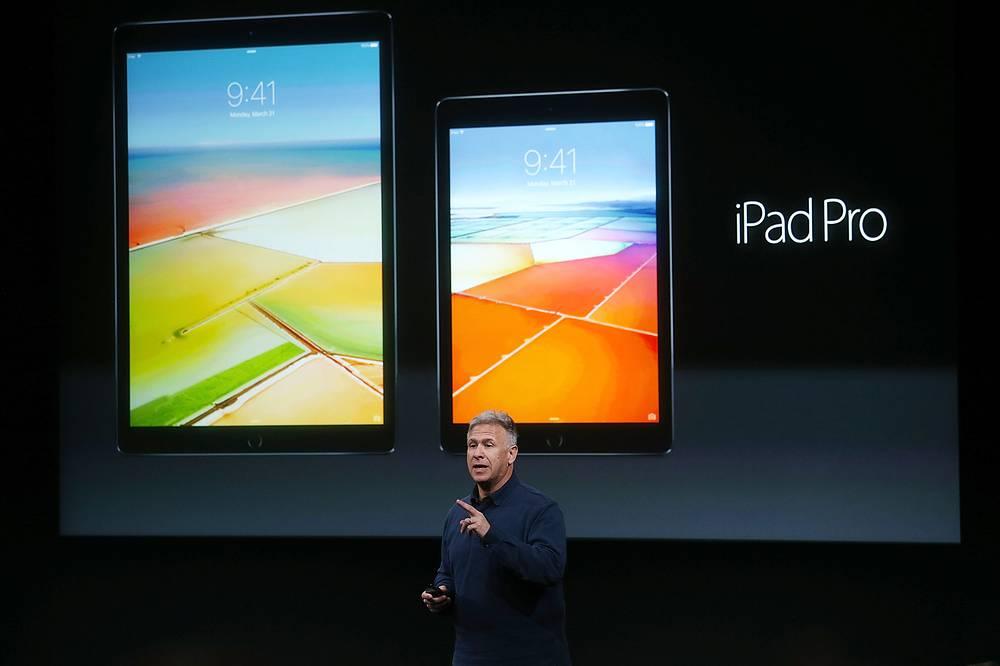 Cтарший вице-президент по маркетингу корпорации Apple Филипп Шиллер